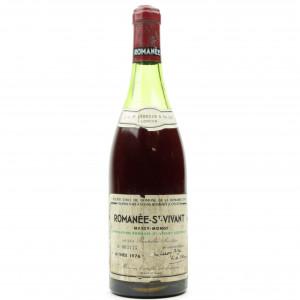 Dom. De La Romanee-Conti 1976 Romanee-St-Vivant Grand-Cru