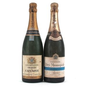 Charles De Cazanove & Heidsieck Monopole Brut NV Champagne 2x75cl