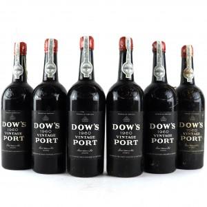 Dow's 1960 Vintage Port / 6 Bottles
