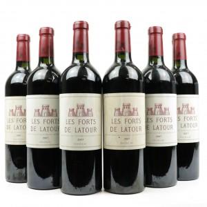 Les Forts De Latour 2007 Pauillac 6x75cl