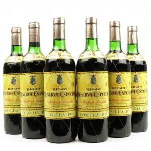 M.Lacuesta 1976 Rioja Reserva Especial 6x75cl