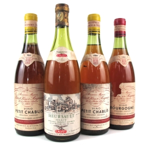 Assorted French White Wines 4x75cl
