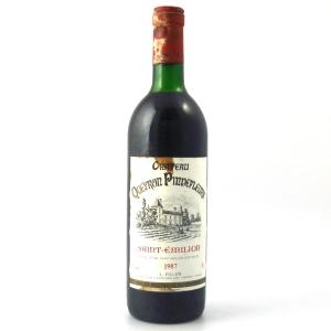Ch. Queyron Pinnefleurs 1987 Saint-Emilion