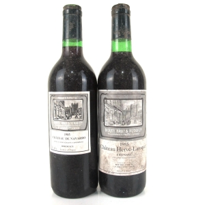 Berry Brothers & Rudd 1985 Bordeaux 2x70cl