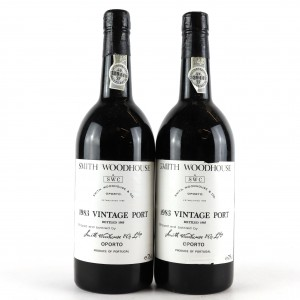 Smith Woodhouse 1983 Vintage Port 2x75cl