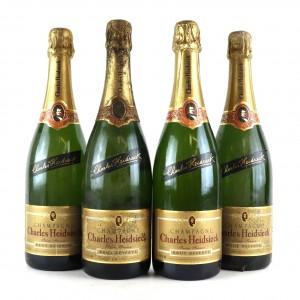 Charles Heidsieck Brut NV Champagne 4x75cl