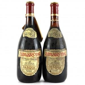 Pasqua Recioto Della Valpolicella 1970 Verona Classico / 2 Bottles