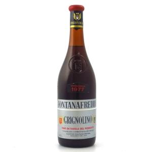 Fontanafredda Grignolino 1977 Piemonte