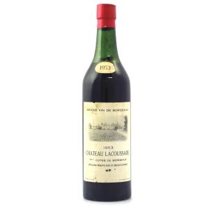 Ch. Lacoussade 1953 Bordeaux