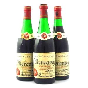 """Caves Du Ch. D'Etroyes """"Clos l'Eveque"""" 1961 Mercurey 3x75cl"""
