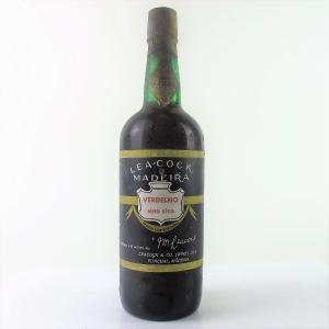 Leacock Verdelho Madeira Circa 1960s