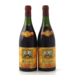 R.Clerget 1957 Morgon 2x75cl