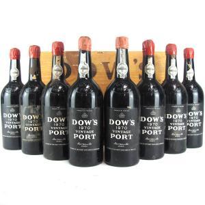 Dow's 1970 Vintage Port 8x75cl