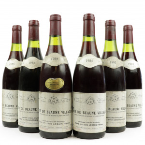 Dom. Lequin-Roussot 1985 Cotes De Beaune Villages 6x75cl