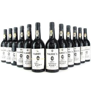 Warre's 1977 Vintage Port 12x75cl