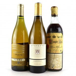 Assorted Spanish WhiteWines 3x75cl