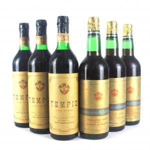 "Cantina Sociale Gallura ""Tempio"" Moscato & Rosso 6x73cl / Mixed Case"