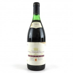 M.Bujanda 1986 Rioja Reserva