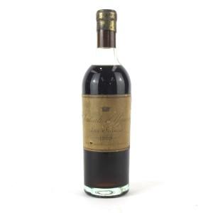 Ch. d'Yquem 1929 Sauternes 1er-Cru-Superior / Approx. 37.5cl