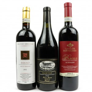 Assorted 2012 Barolo 3x75cl