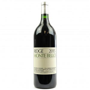 Ridge Monte Bello 2015 Santa Cruz Mountains 150cl