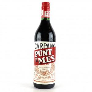 CarpanoPunt E Mes Vermouth 1 Litre / Circa 1980s