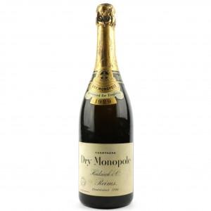 Heidsieck Dry Monopole 1929 Vintage Champagne