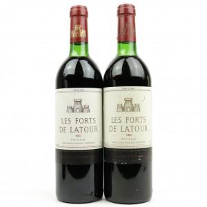 Les Forts De Latour 1981 Pauillac 2x75cl