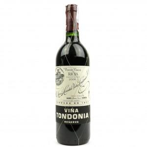 Vina Tondonia 2006 Rioja Reserva