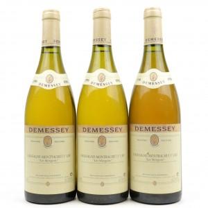 Demessey Les Morgeots 1996 Chassagne-Montrachet 1er-Cru 3x75cl