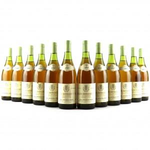 H.Bouzerau-Gruere Les Chaumees 1987 Chassagne-Montrachet 1er-Cru 12x75cl