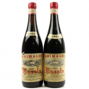 Grimaldi 1966 Barolo 2x72cl