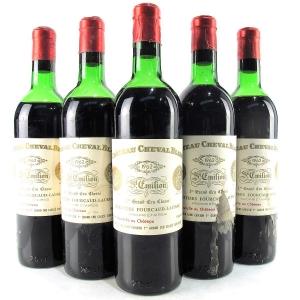 Ch. Cheval Blanc 1962 St-Emilion 1er Grand Cru 5x75cl