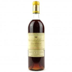 Ch. d'Yquem 1957 Sauternes 1er-Cru-Superior