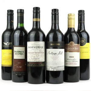 Assorted Australian Red Wines 6x75cl
