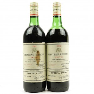Ch. Rahoul Special Cuvee 1982 Graves 2x75cl