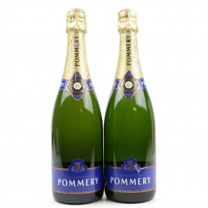 Pommery Brut NV Champagne 2x75cl