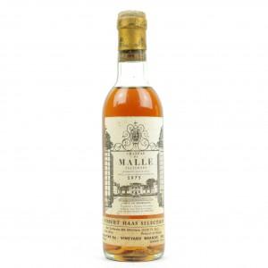 Ch. De Malle 1975 Sauternes 2eme-Cru 36.5cl