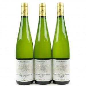 Trimbach Schlossberg Riesling 2015 Alsace Grand Cru 3x75cl