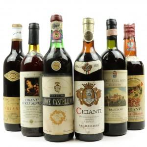 Assorted Chianti / 6 Bottles