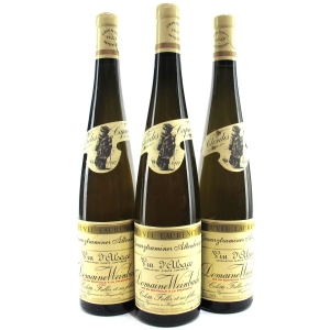 "Dom. Weinbach ""Cuvee Laurence"" Gewurztraminer 1997 Alsace 3x75cl"