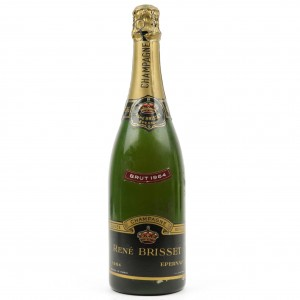 Rene Brisset Brut 1964 Vintage Champagne