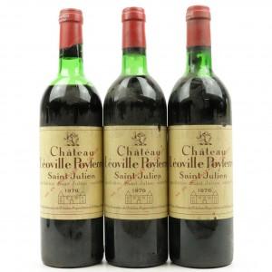 Ch. Leoville Poyferre 1978 St-Julien 2eme-Cru 3x75cl