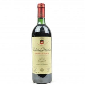 Ch. De Parenchere 1989 Bordeaux Superieur