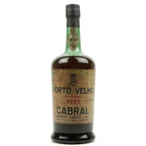Cabral Old Reserve 1931 Vintage Port