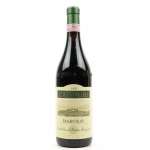 S.&B.Borgogno Cannubi 1992 Barolo