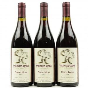 Talinda Oaks Pinot Noir 1997 Santa Ynez 3x75cl
