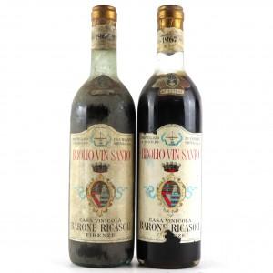 Ricasoli Brolio 1967 Vin Santo 2x72cl