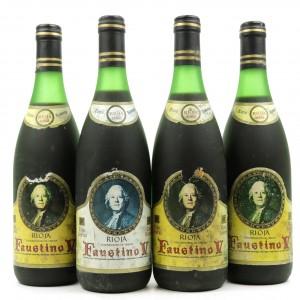 Faustino V 1982 Rioja Reserva 4x75cl