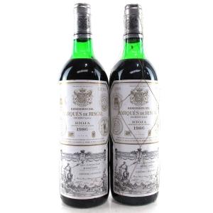 Marques De Riscal 1986 Rioja Crianza 2x75cl